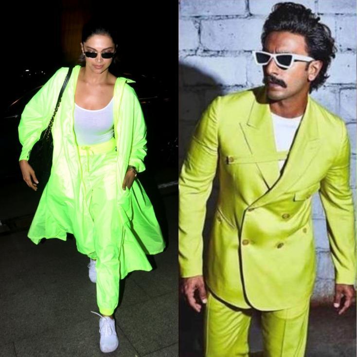 Four Times Deepika Padukone and Ranveer Singh Dressed Like Each Other