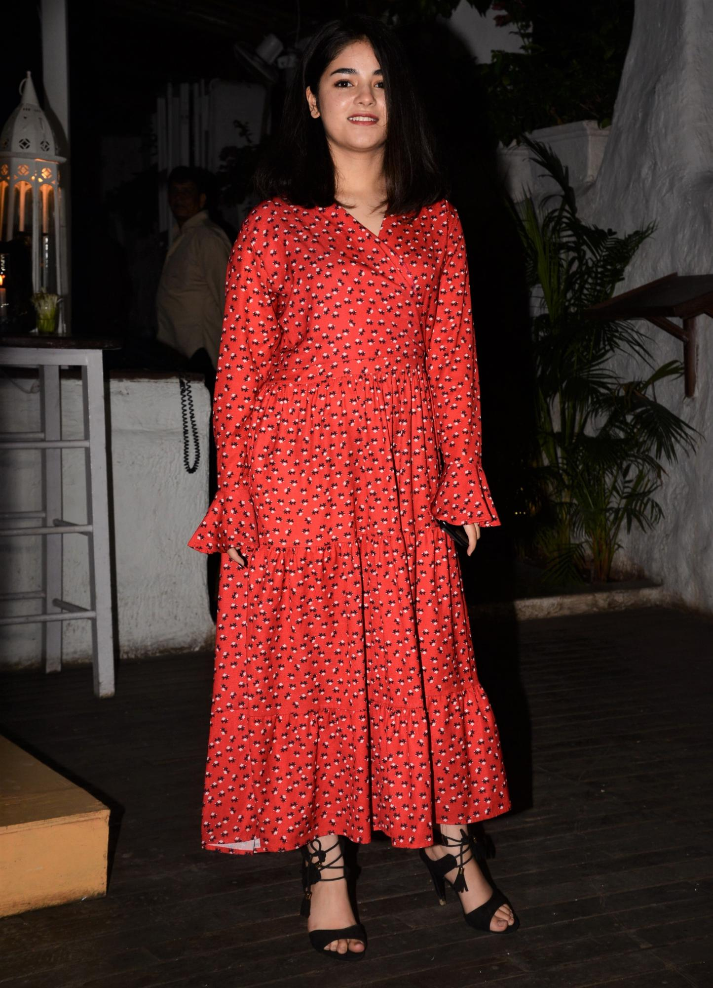The Sky Is Pink: Zaira Wasim's Look at the Wrap Party is Everything!