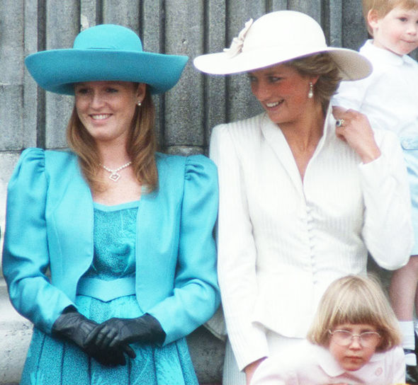 Princess Diana Sarah Ferguson Sophie resentment