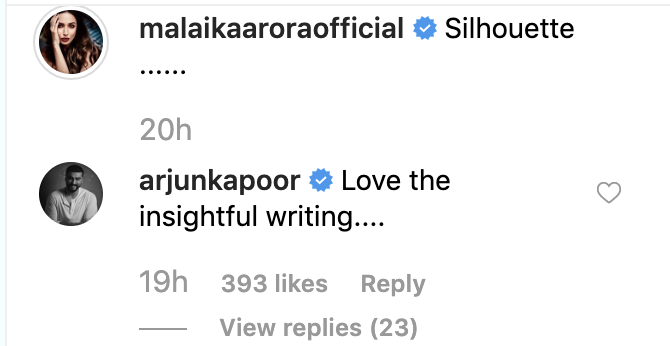 Arjun Kapoor's Comment on Malaika Arora's Latest Pictures from Maldives, Check It Out!