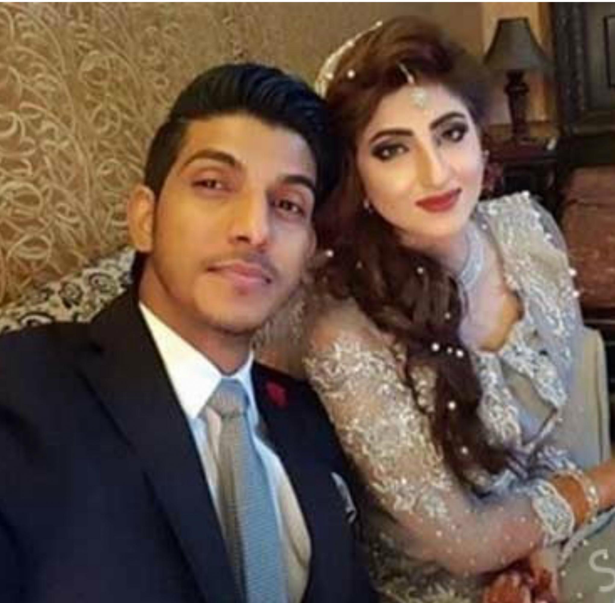 Mohsin Abbas Haider wife Nazish Jahangir