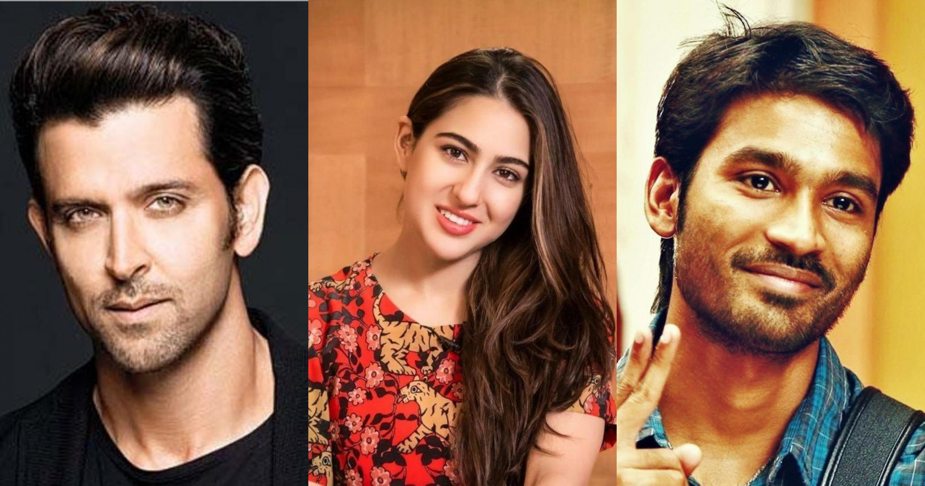 Hrithik Roshan Sara Ali Khan And Dhanush To Come Together For Aanand L Rai S Next Film Masala Com