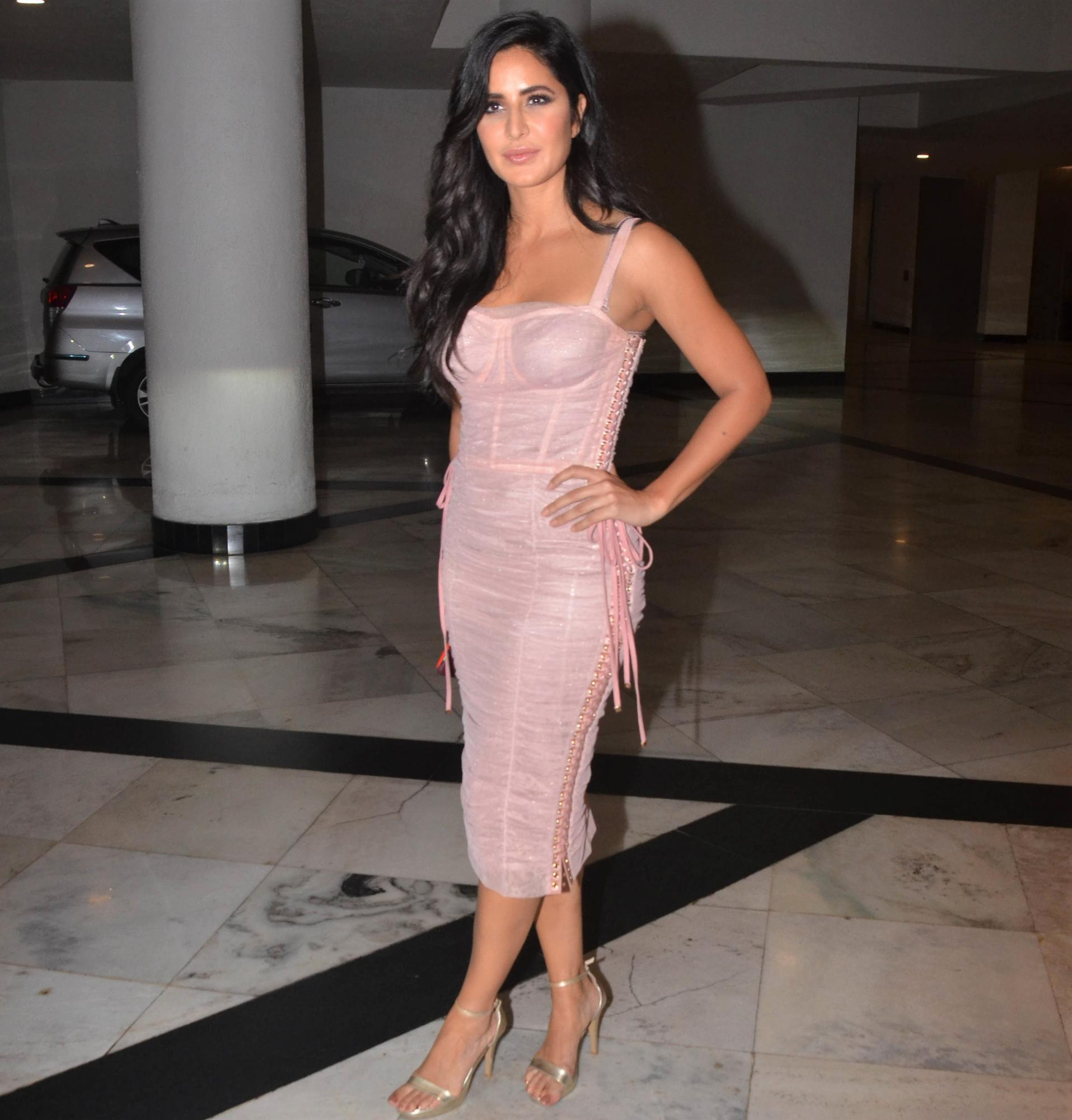 Katrina Kaif and Jacqueline Fernandez Are Bringing Back the 70s Lace-Up Trend