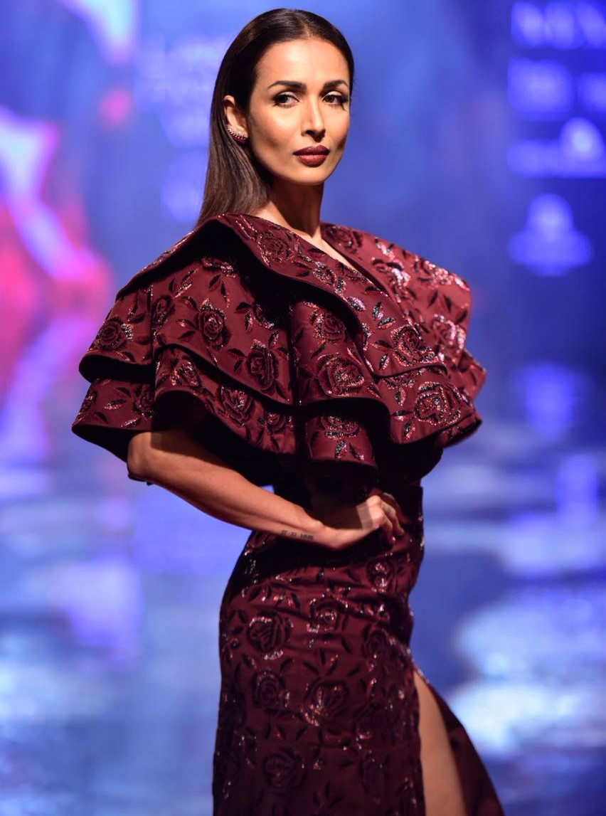 Malaika Arora Lakme Fashion Week 2019
