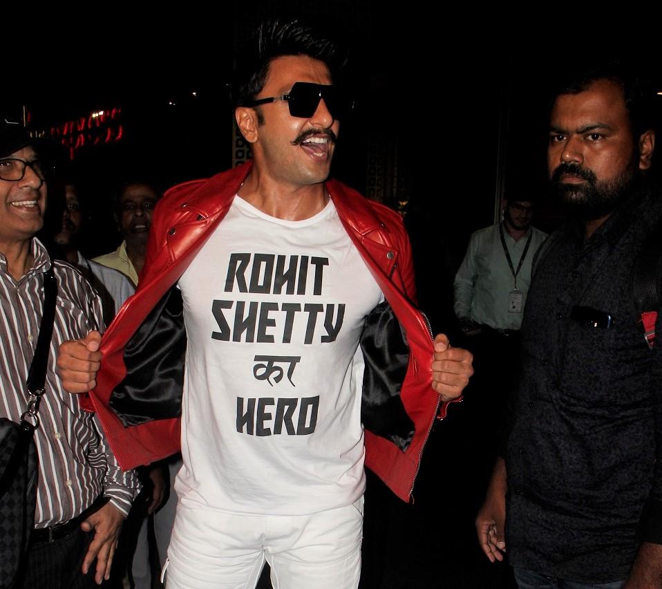 Ranveer Singh Rohit Shetty