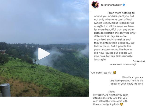 Farah Khan Instagram