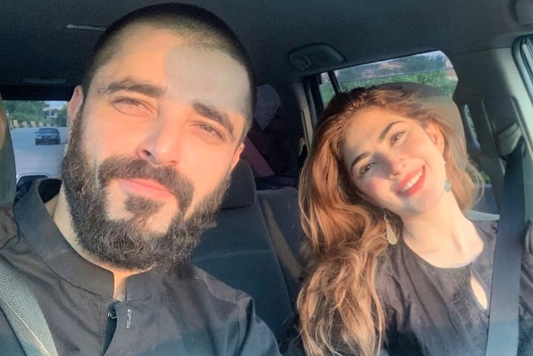 Hamza Ali Abbasi and Naimal Khawar keep their fans posted about their daily life