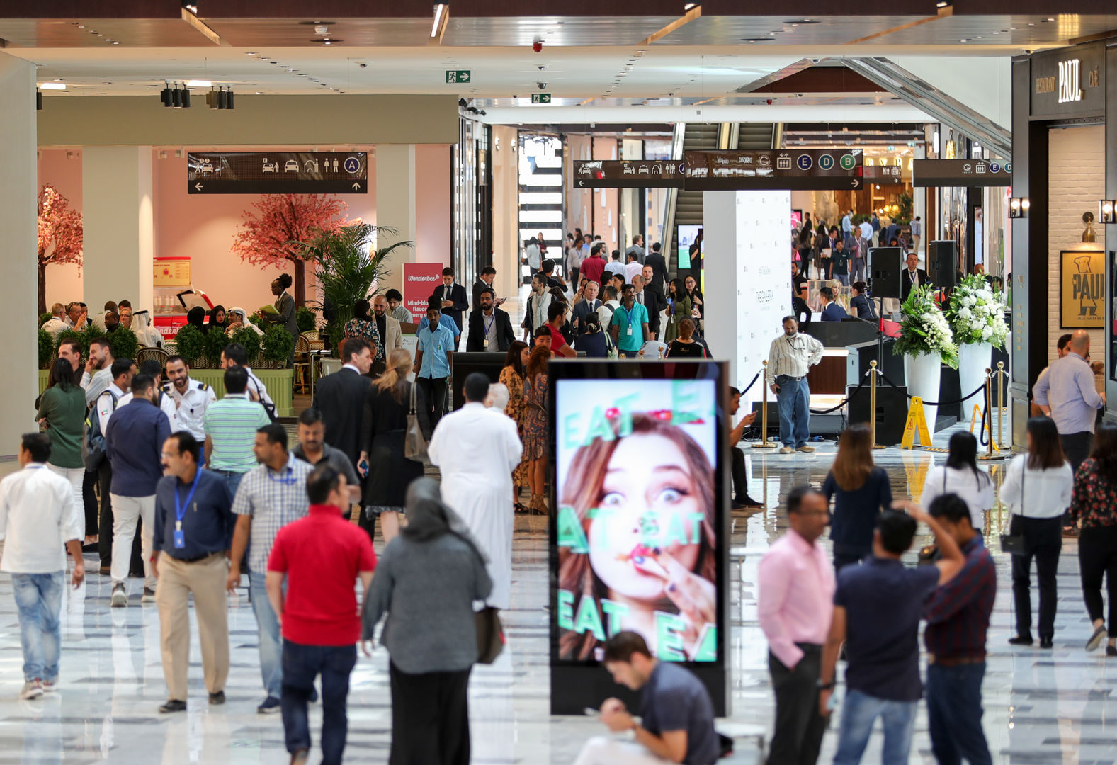 The Galleria Al Maryah Island's Expansion Attracts Over 400,000 People in First 4 Days