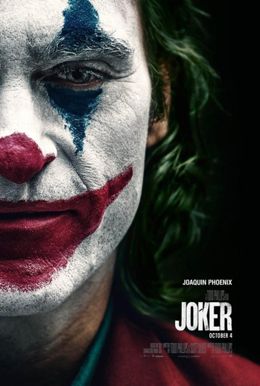 Joker poster, starring Joaquin Phoenix