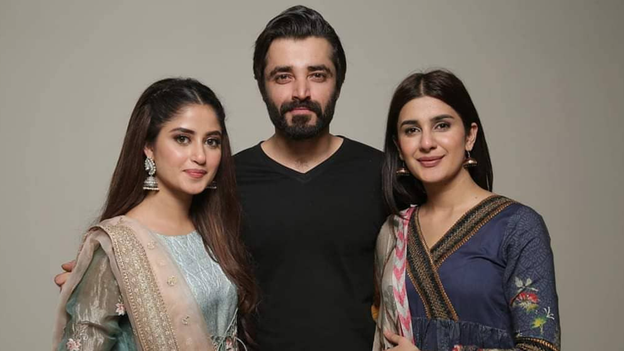 Sajal Aly, Hamza Ali Abbasi and Kubra Khan star in tv show Alif