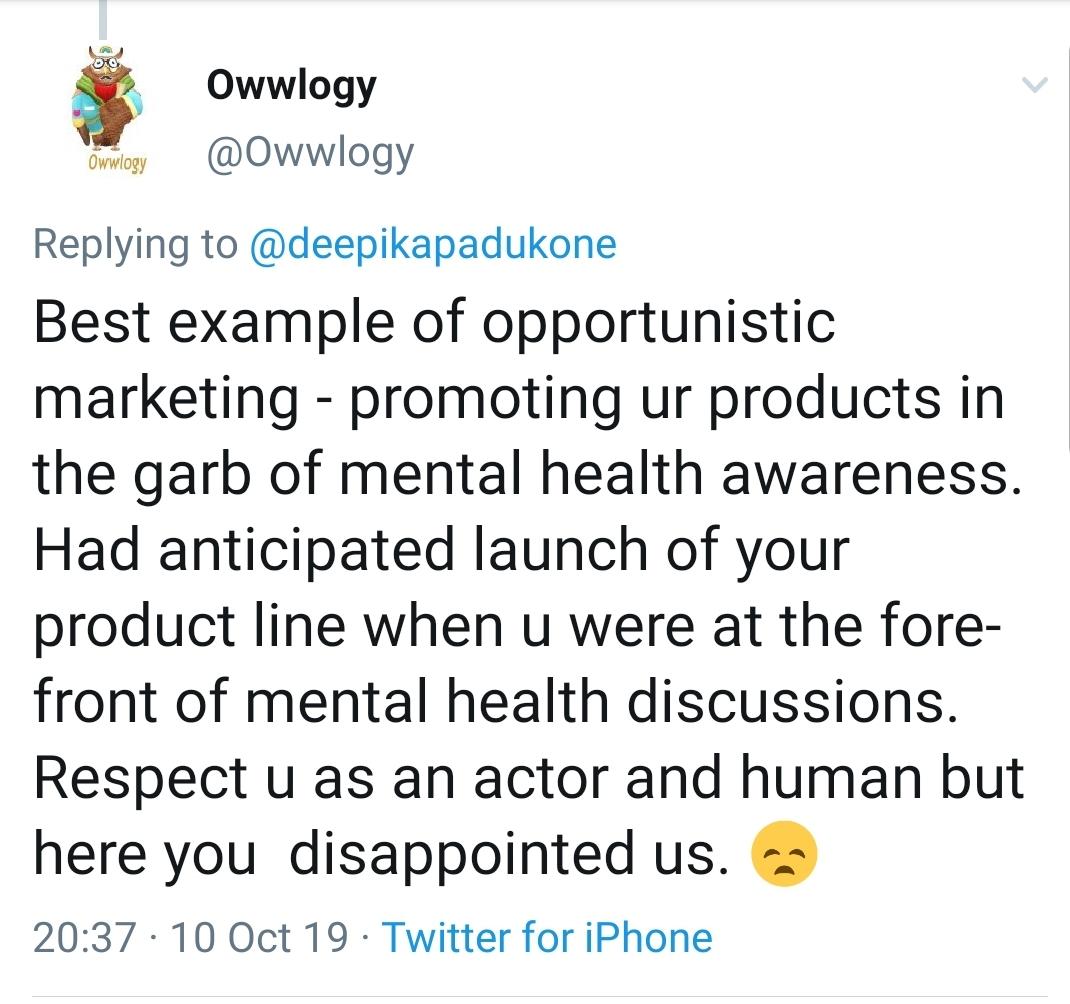 Deepika Padukone Criticized For Her Initiative 'Deepika Padukone Closet' On World Mental Health Day