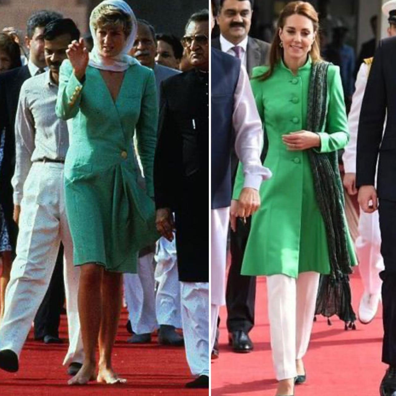 Prince William and Kate Middleton in Pakistan: Duchess of Cambridge Channels Princess Diana