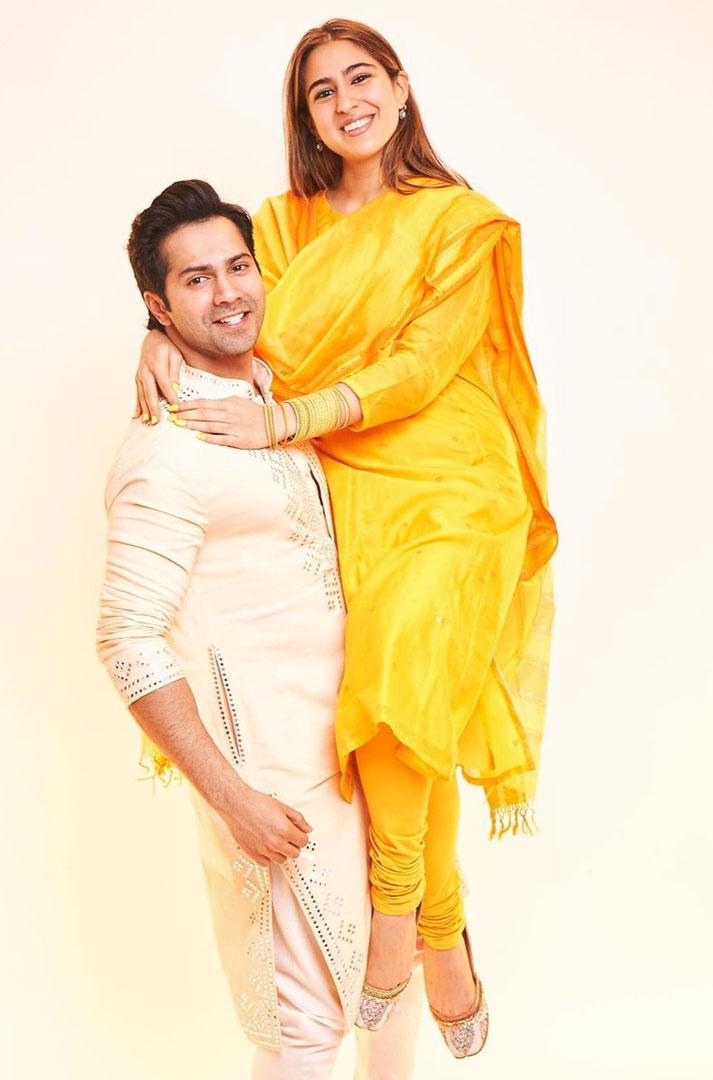 Varun Dhawan and Sara Ali Khan will be seen in 'Coolie no. 1'