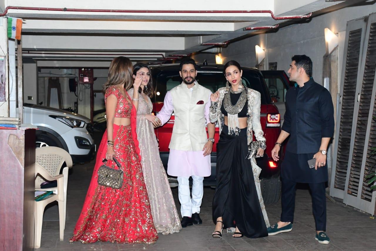 Malaika Arora at Diwali