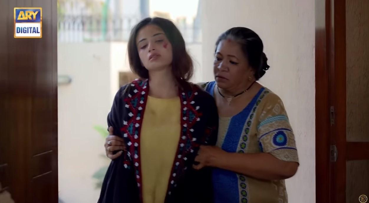 Sana Javed in Ruswai
