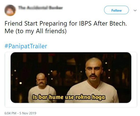 Panipat: Arjun Kapoor and Kriti Sanon's Film's Trailer Inspires Netizens to Create Funny Memes
