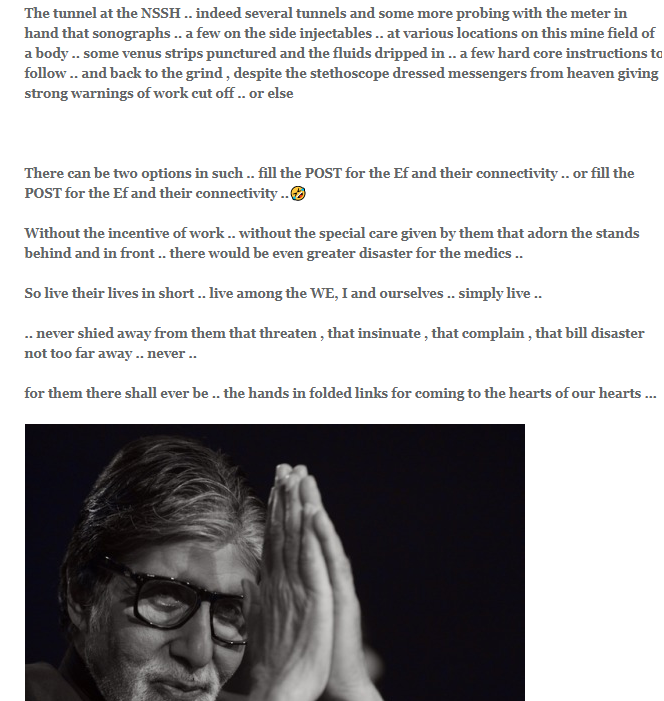 """Amitabh Bachchan Admits Doctors Have Given Him """"Strong Warnings Of Work Cut Off"""" In Latest Post On His Blog"""