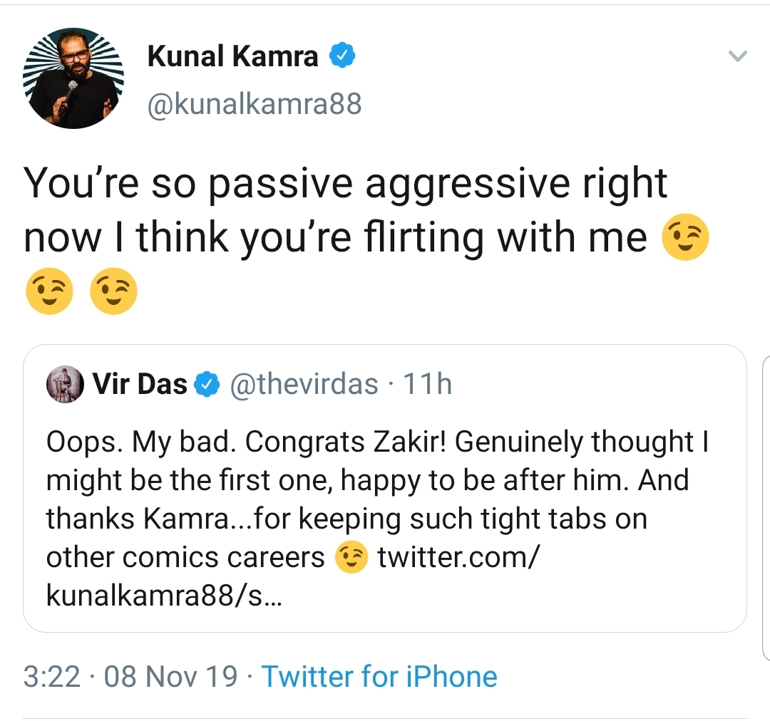 Kunal Kamra and Vir Das' Twitter Banter Is Doing Rounds