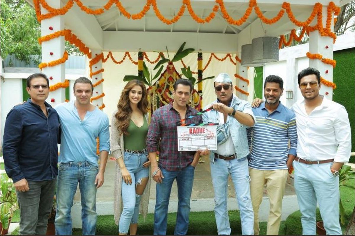 The cast of 'Radhe: Your Most Wanted Bhai'