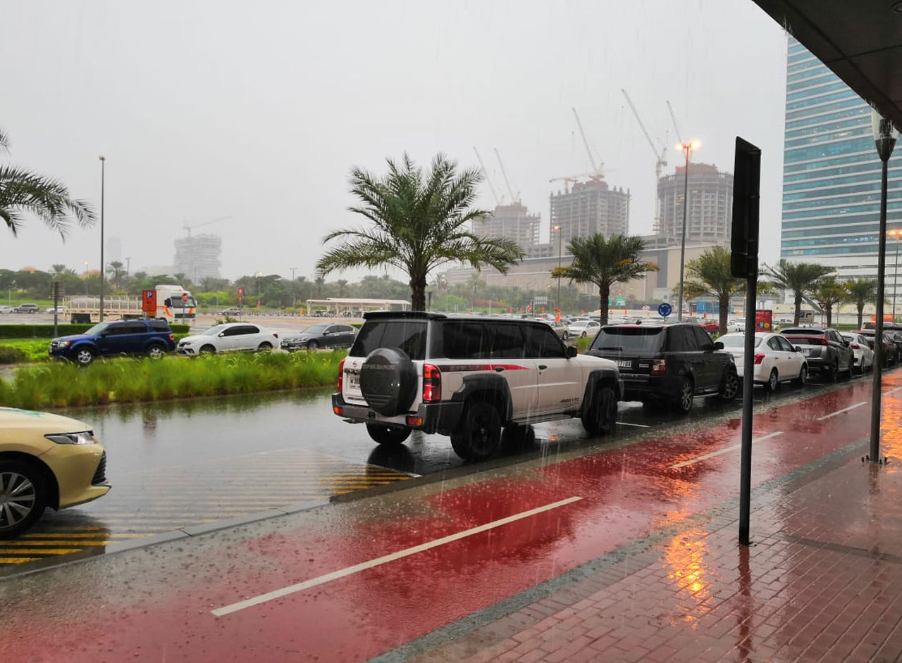 Dubai Weather, Dubai UAE Rain Photos