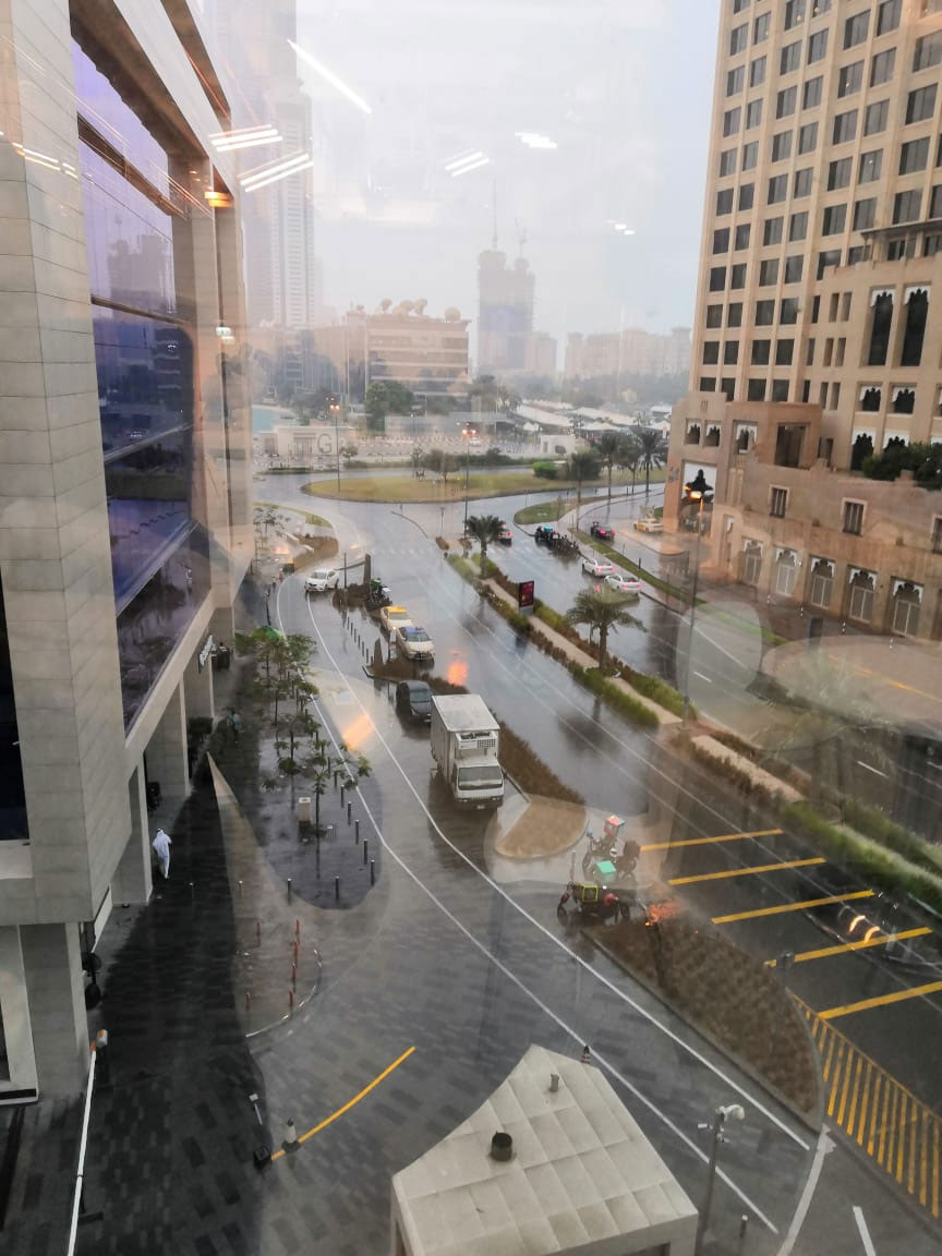 Dubai Weather, Dubai UAE Rain Photo 4