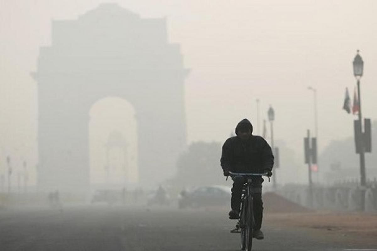 Delhi Pollution. Credit, First Post
