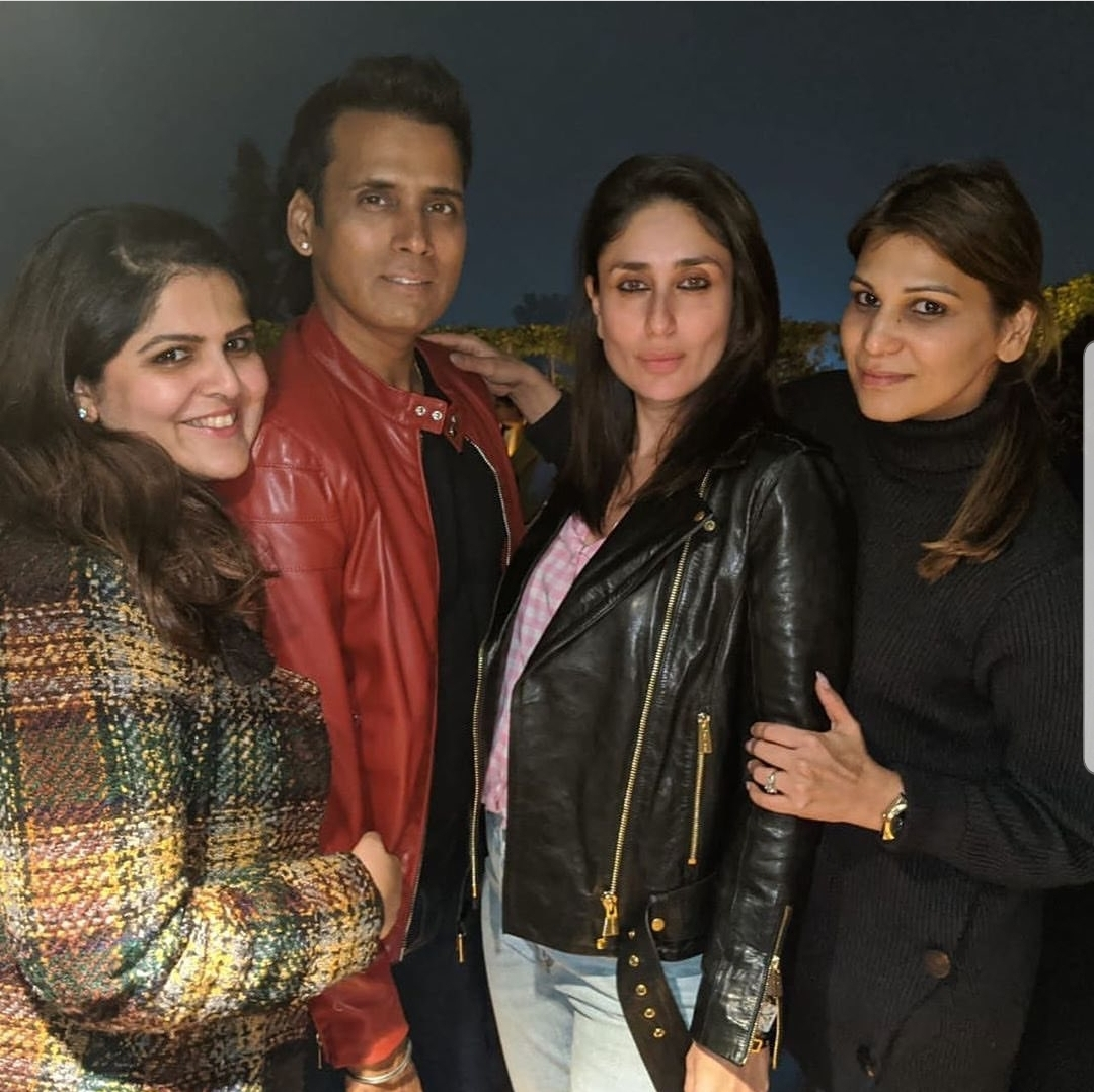 Kareena Kapoor Khan and Aamir Khan celebrate