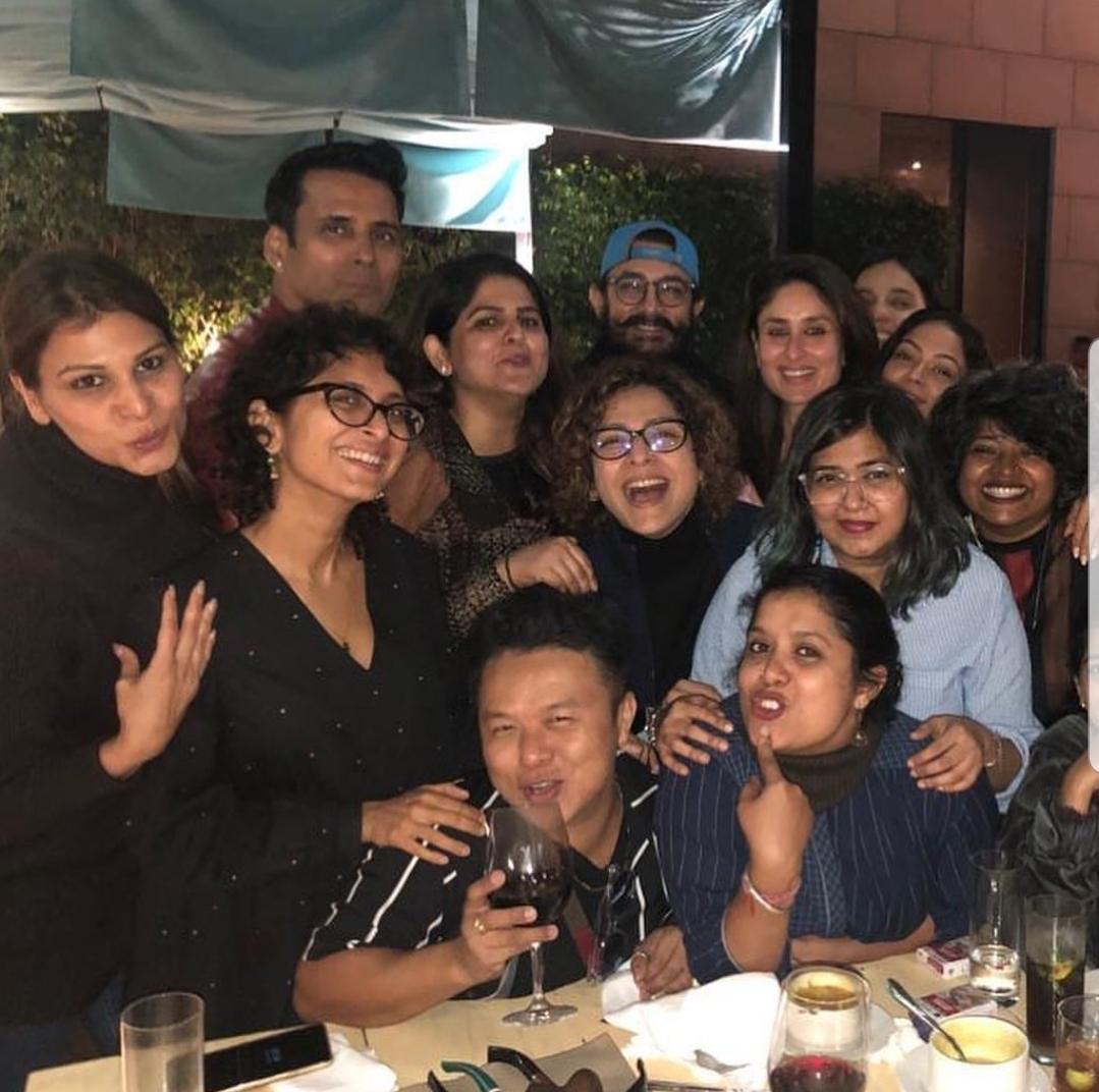 Kareena Kapoor Khan and Aamir Khan celebrate 2