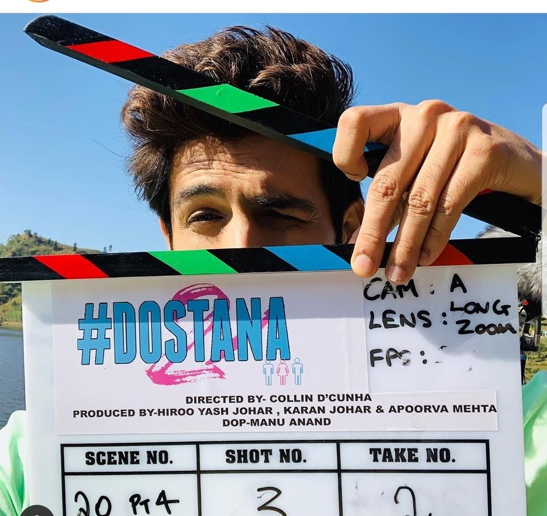 Kartik Aaryan for Dostana 2