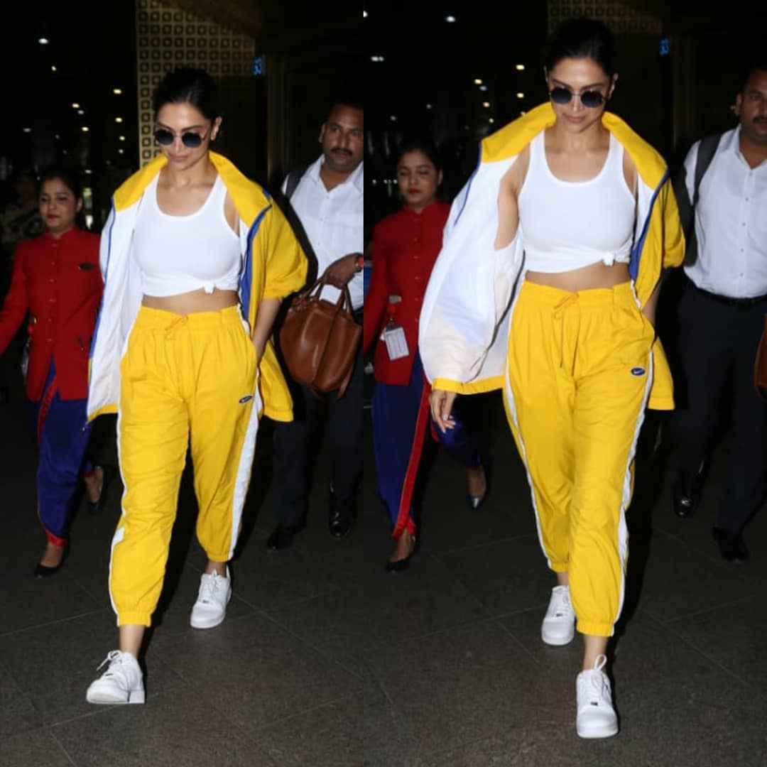 Deepika Padukone Is Brightening Our Day In Bold Yellow
