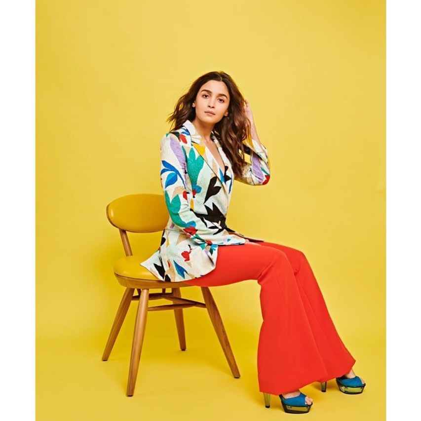Alia Bhatt Gives Us A Lesson On How To Rock A Printed Blazer