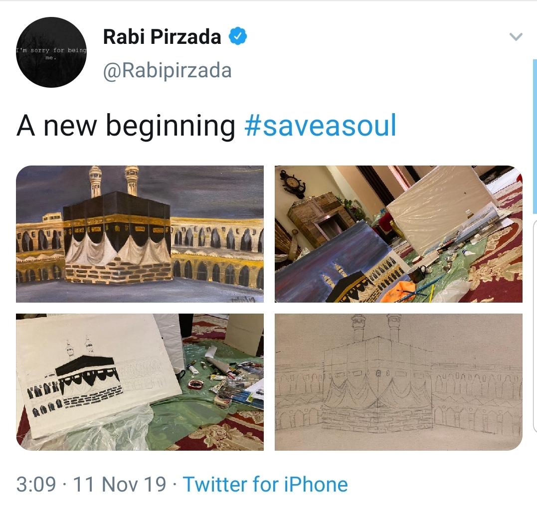 Rabi Pirzada: Here is to New Beginnings