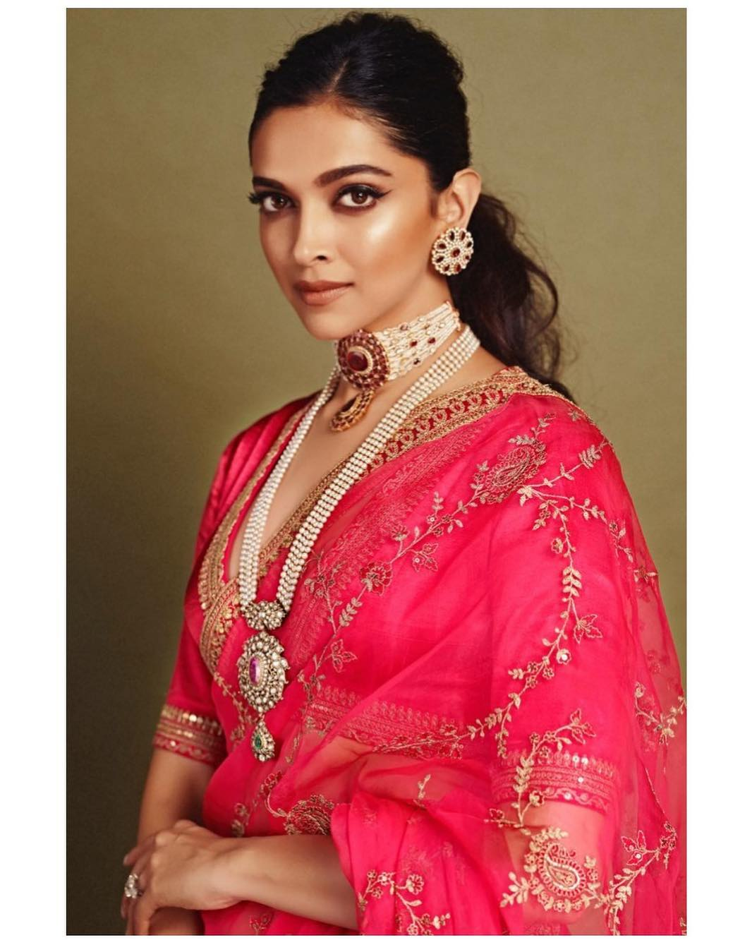 Deepika Padukone in Red, Three Times the Actor Channeled Her Inner Boss Lady