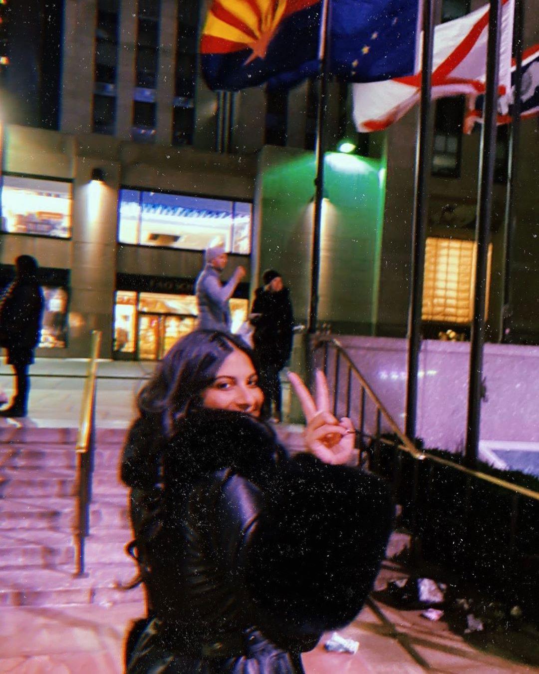 Rhea Kapoor in New York City