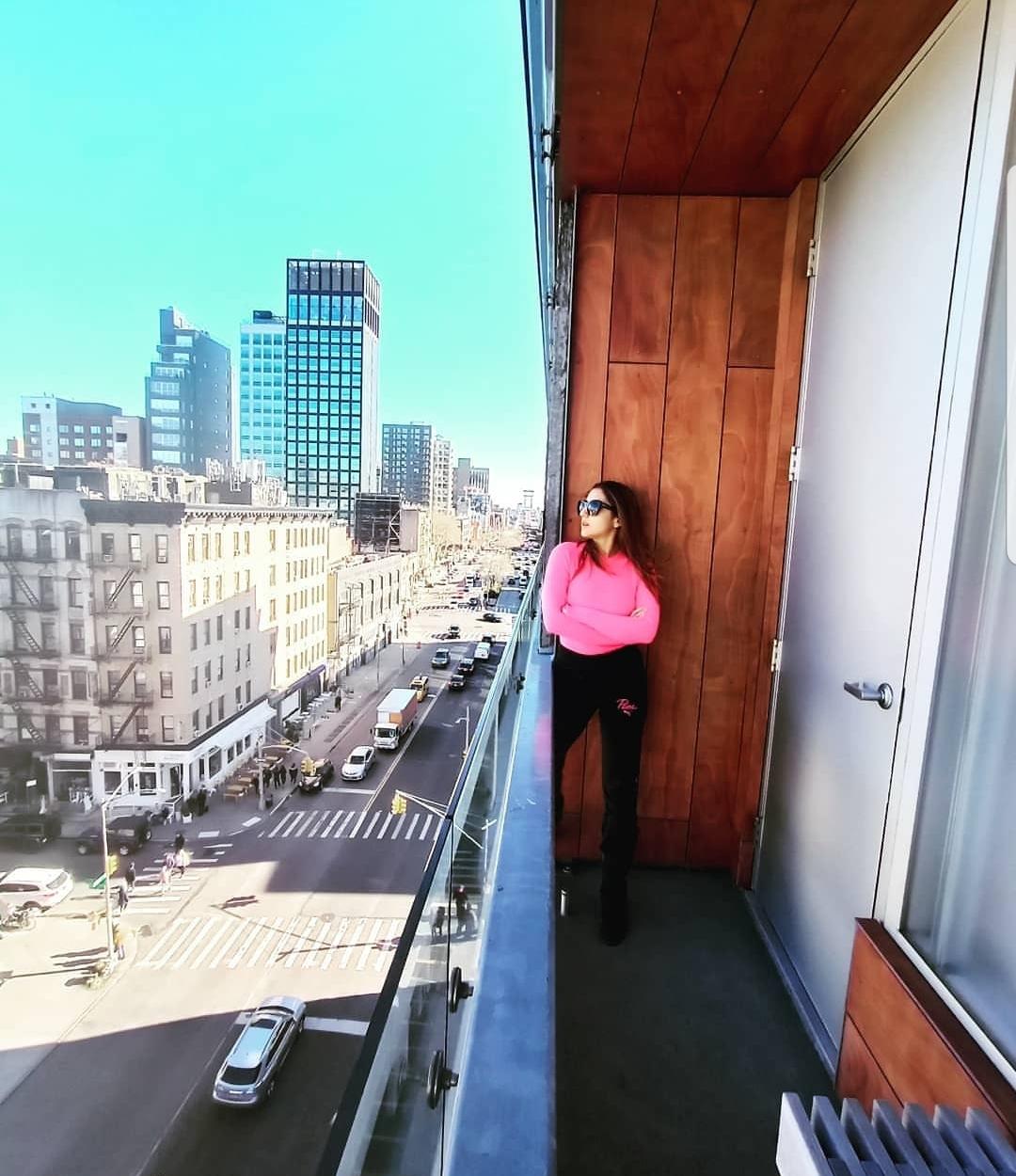 Sara Ali Khan in New York City