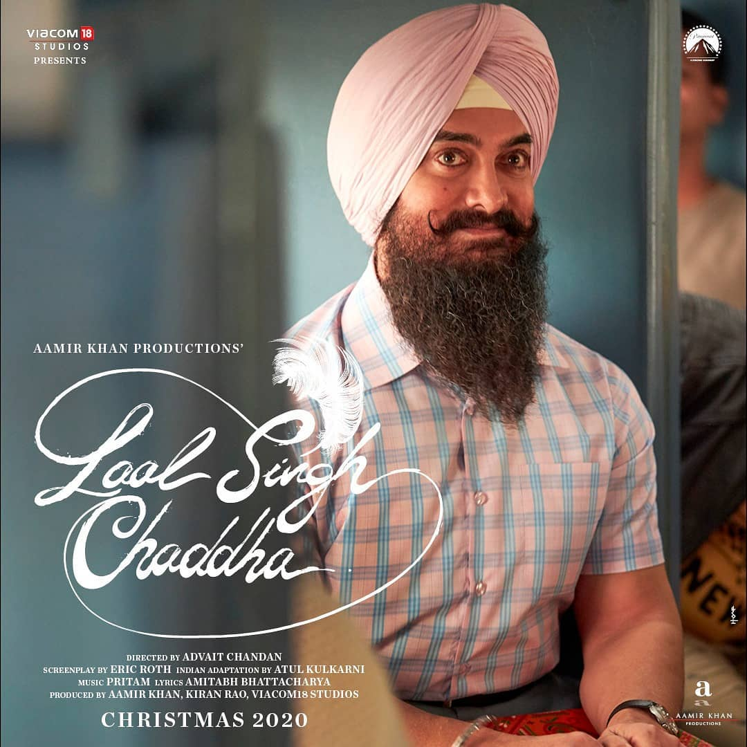 Aamir Khan in and as Laal Singh Chaddha