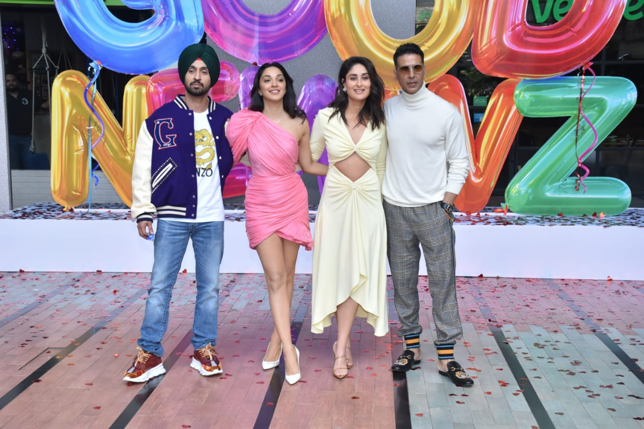 Good Newwz cast at the trailer launch
