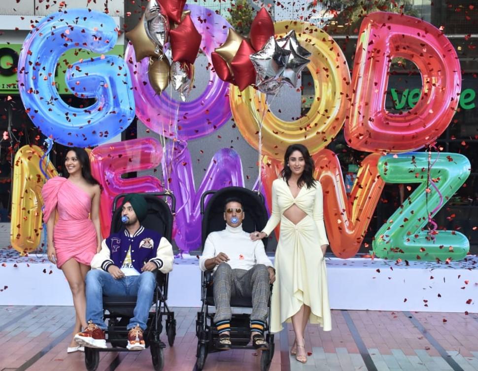 Kiara Advani, Diljit Dosanjh, Akshay Kumar and Kareena Kapoor Khan