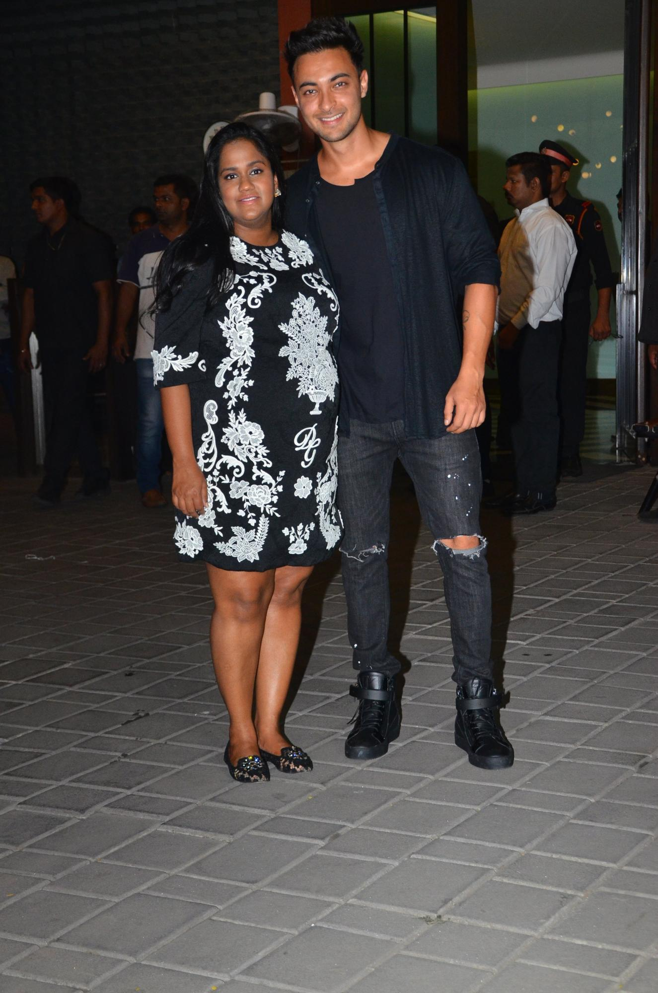 Arpita Khan and Aayush Sharma