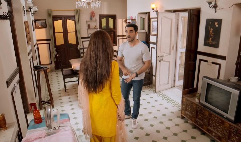 Mawra Hocane and Adeel Hussain in 'Daasi'