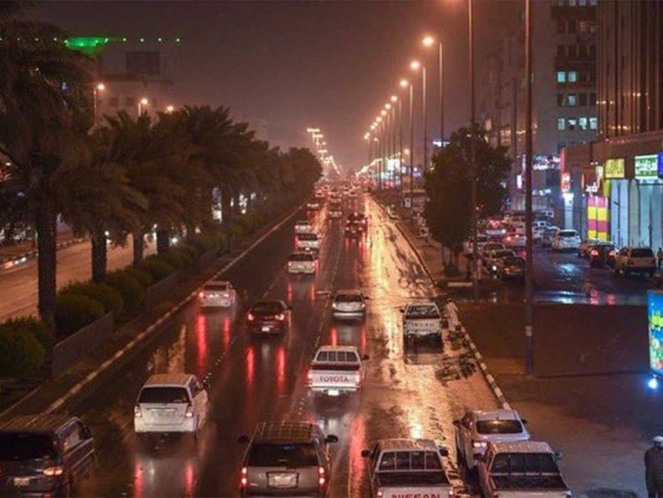 Raining in UAE by Cloud Seeding