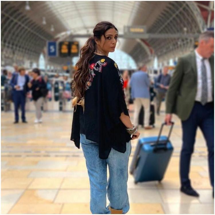 Tabu shared the first look of the movie on social media