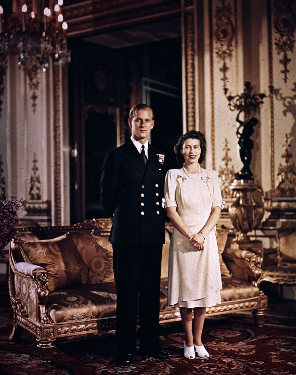 Queen Elizabeth II and the Duke of Edinburgh Prince Phillip