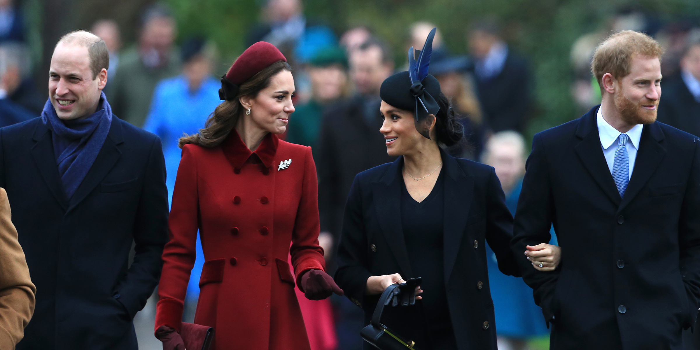 Prince William, Kate Middleton and Meghan Markle, Prince Harry