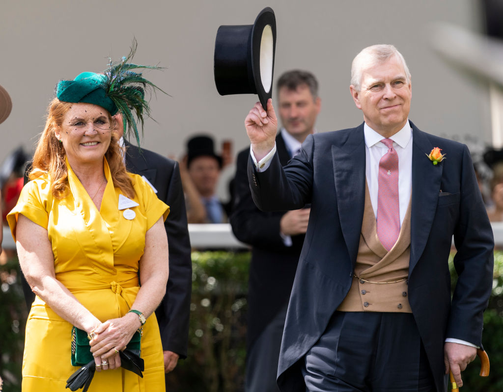 Prince Andrew - Duke of York - with former wife Sarah Ferguson - Duchess of York