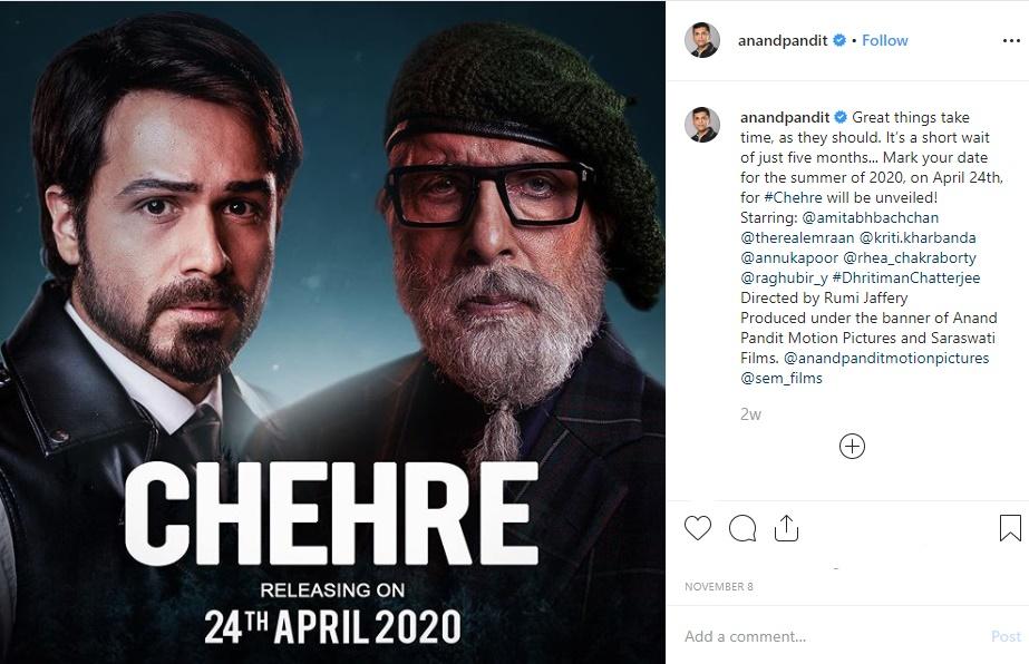 Amitabh Bachchan's Chehre: Kriti Kharbanda Talks About Why She Had to Leave the Film