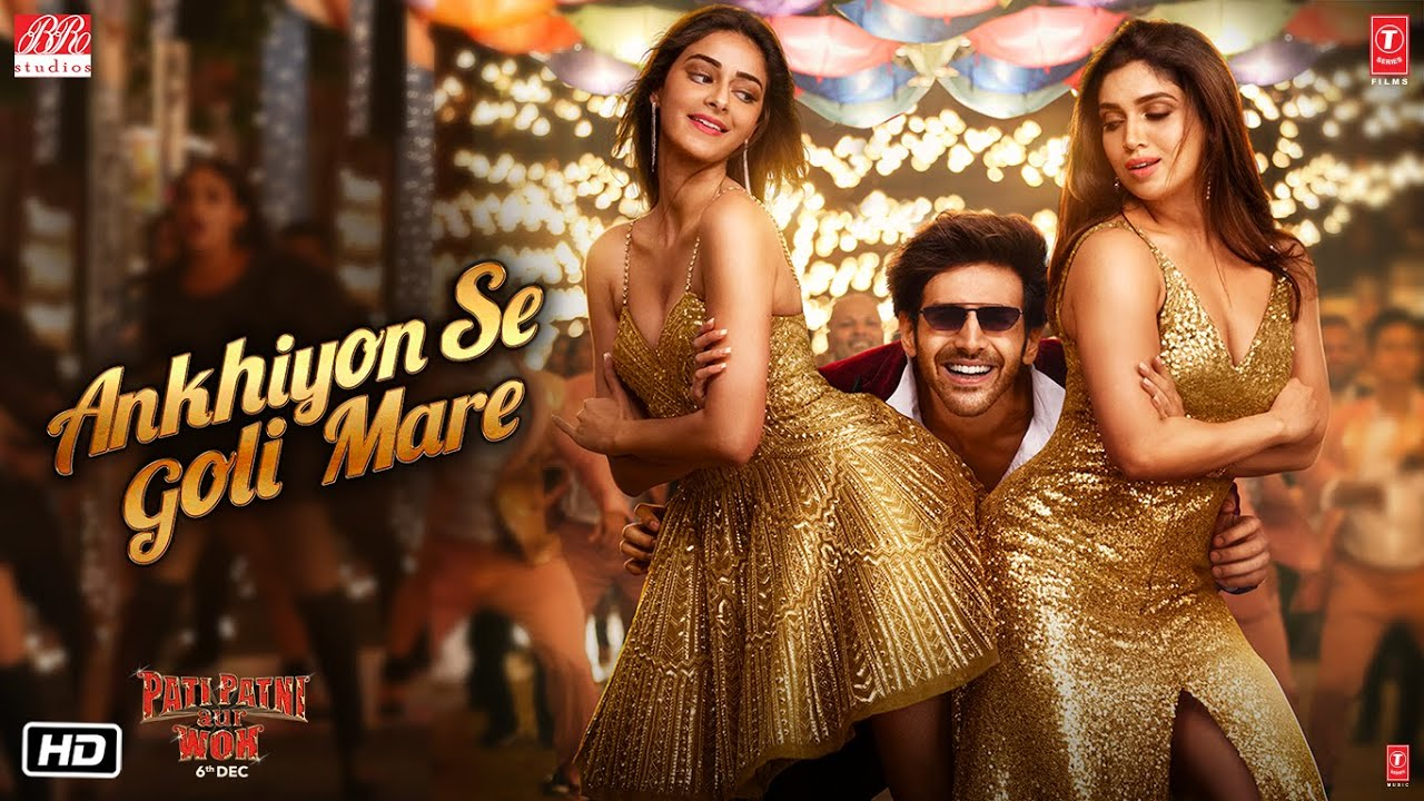 The poster for 'Ankhiyon Se Goli Maare'