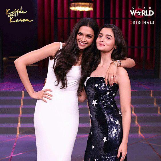 Deepika Padukone and Alia Bhatt on 'Koffee with Karan'