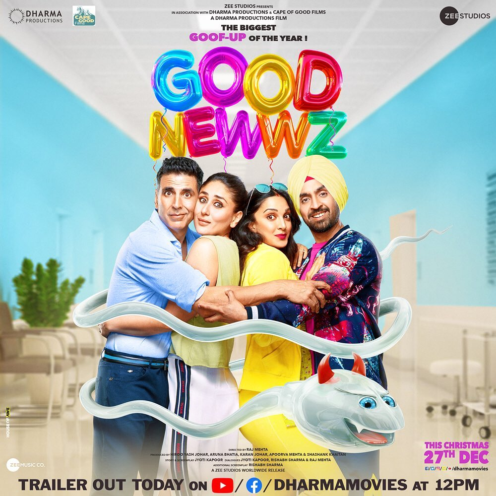 Poster of 'Good Newwz'