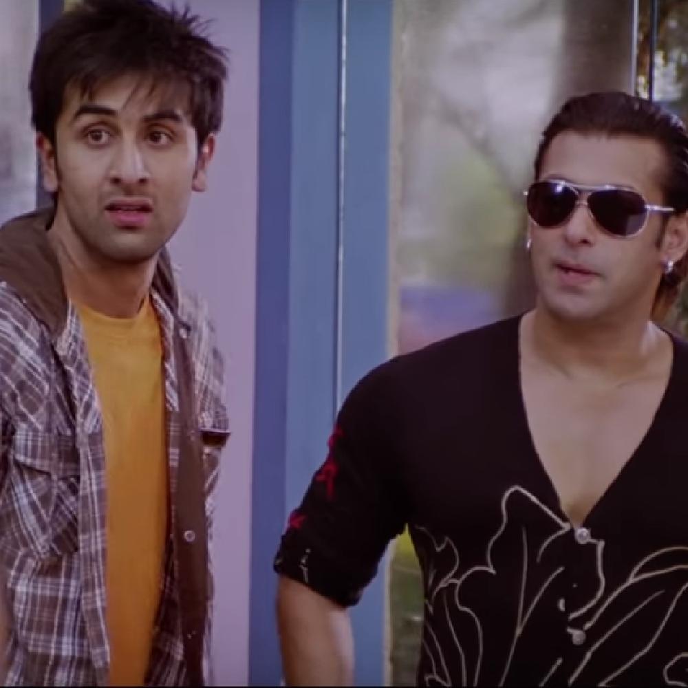 Ranbir Kapoor and Salman Khan in 'Ajab Prem Ki Ghazab Kahani'